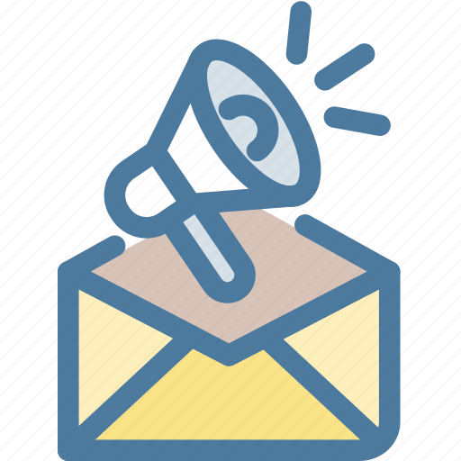 Email, email marketing, loud, marketing, megaphone, promotion, speaker icon - Download on Iconfinder