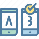 ab testing, compare, evaluation, feedback, test, testing, usability icon