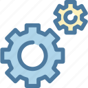 config, gear, options, preferences, service, settings, tools icon