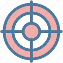 aim, bullseye, goal, market, purpose, target, targeting icon