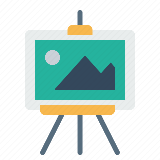 board, display, optimization, picture, seo, training icon