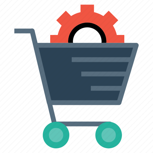 cart, commerce, e, online, services, shopping, solution icon