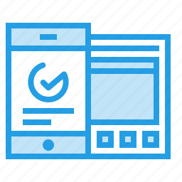 analysis, data, graph, mobile, statics, sync, window icon