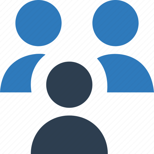 collaboration, communication, group, people connection icon