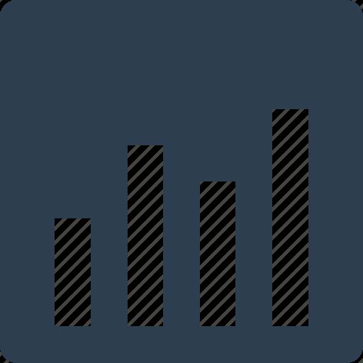 analytics, bar chart, bar graph, online graph icon
