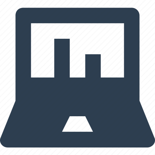 analytics, bar chart, bar graph, online graph, signal bars, web page graph icon