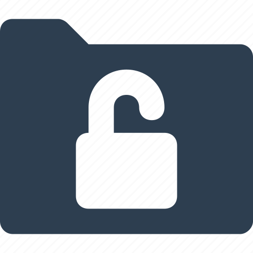 digital lock, folder privacy, folder protection, folder with lock, lock, lock folder, locked folder icon