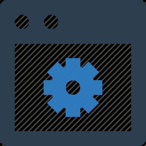 cog, web customize, web options, web preferences, web setting, webpage icon