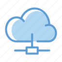 cloud, computing, connection, network, share