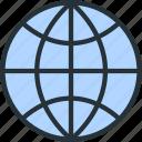 earth, internet, planet, seo, web icon