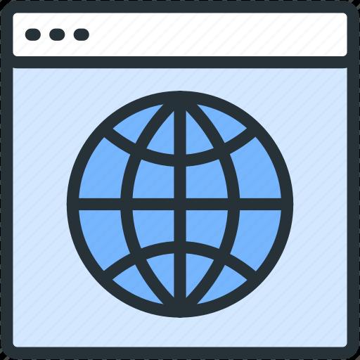 explore, internet, seo, web icon