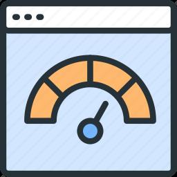 internet, seo, speed, test, web icon