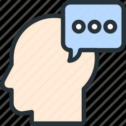 chat, internet, seo, user, web icon