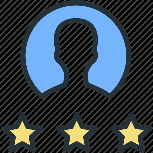 internet, rating, seo, user, web icon