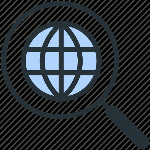 internet, search, seo, web icon