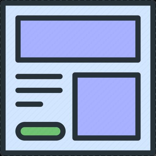 internet, page, seo, web icon