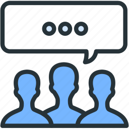 comments, internet, seo, users, web icon