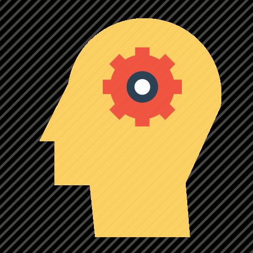 gear, idea, man, mind, preferences, seo, settings icon