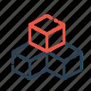 box, boxes, cube, cubic, inspiration, rubik, three