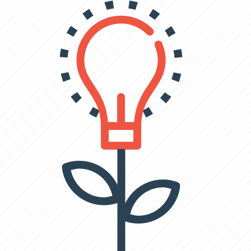 boost, bulb, idea, innovation, invention, startup icon