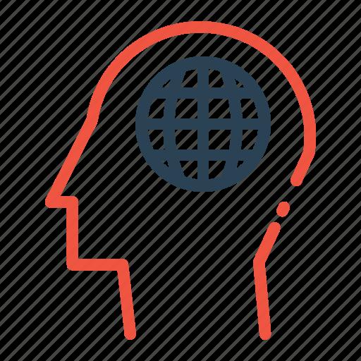 creativity, internet, man, mind, power, webpage, website icon