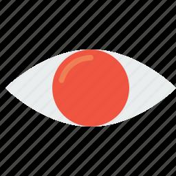 eye, future, idea, mission, search, view, vision icon