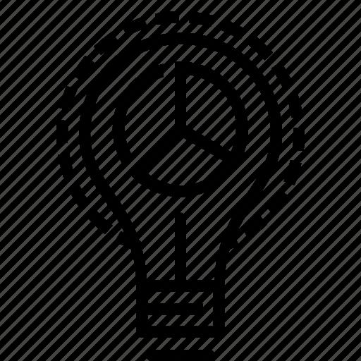 creative, idea, marketing, optimization, pie, seo, statics icon