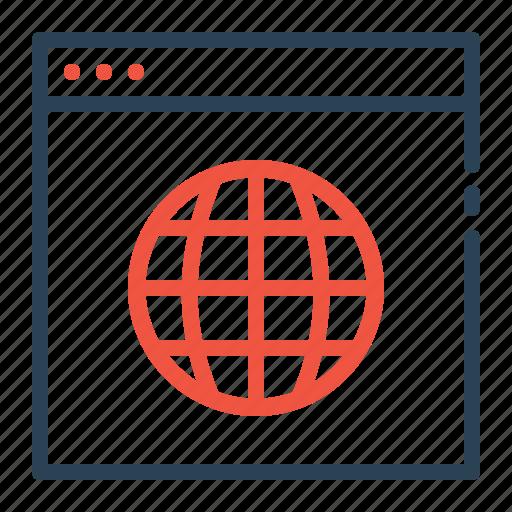 analysis, analytics, internet, network, optimization, web, webpage icon