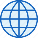 earth, internet, planet, seo, web icon