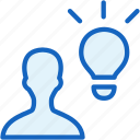 idea, internet, seo, user, web icon