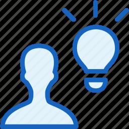 idea, internet, seo, user, web icon