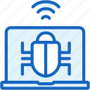 bug, internet, seo, virus, web icon