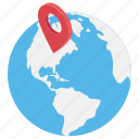 international company, international location, location marker, worldwide location, worldwide map