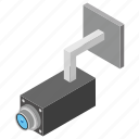 cctv camera, inspection, monitoring camera, security camera, surveillance eye icon