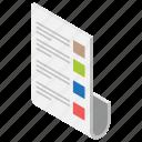 checklist, agenda list, product list, list, shopping list, todo list icon