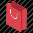 gift bag, grocery bag, hand bag, shopping bag, tote bag icon