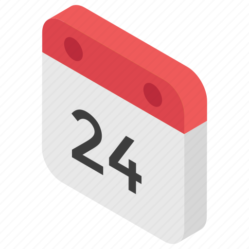 24 date, calendar, date, day, schedule, season icon - Download on Iconfinder
