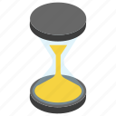 loading process, hourglass, vintage time machine, retro clock, page loading
