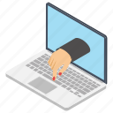 online assignment, online business, overseas work, remote work, trade icon