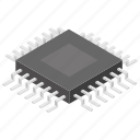 circuit board, computer processor, electronic device, microchip, microprocessor icon