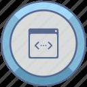 api, code, program, window icon