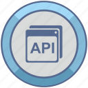 api, code, program, windows icon