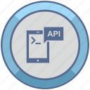 api, code, comment, mobile, program icon