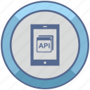 api, code, mobile, program, windows icon
