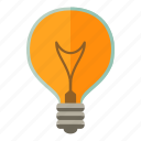 bulb, energy, idea, light icon