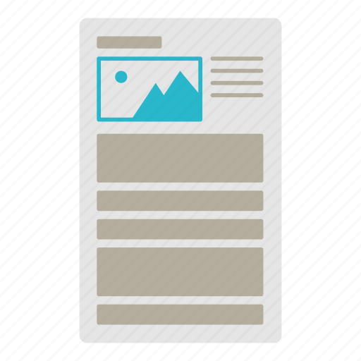 blank, docs, document, template icon