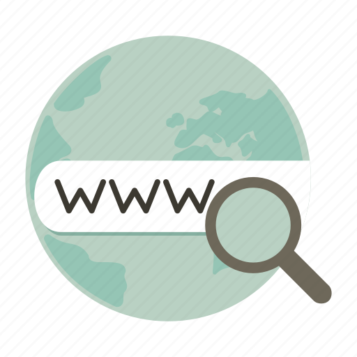 domain, find, internet, search, world, www icon