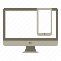 application, devices, imac, interface, iphone, responsive icon