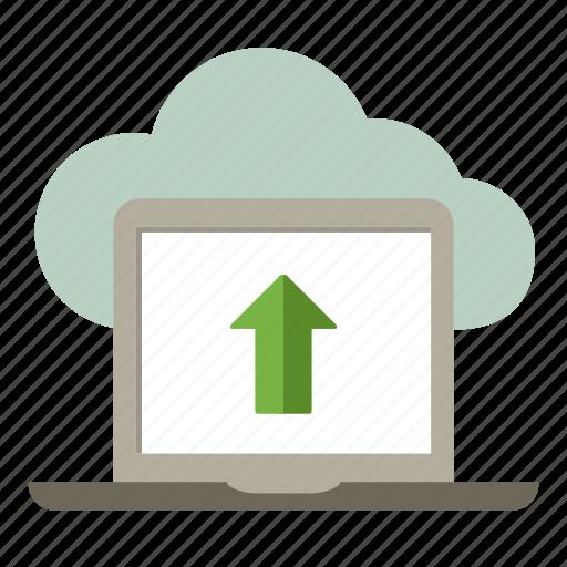 arrow, arrow up, download, loading, upload icon