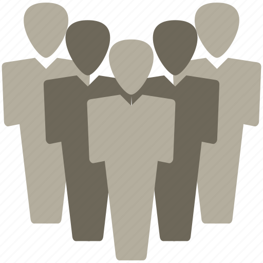 focus group, group, hierarchy, management, teamwork icon